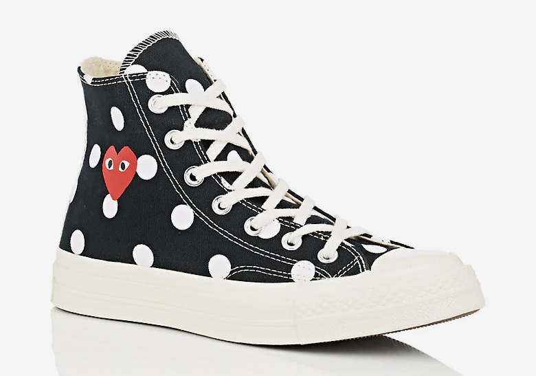 6a20c139879b92 COMME des Garcons Converse Chuck Taylor Polka Dot Available Now ...