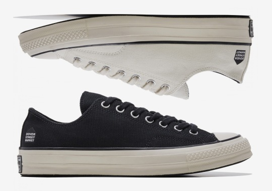 Dover Street Market Releases A Converse Chuck 70 Collaboration