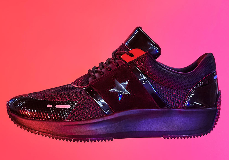 ca01be74adc Converse Run Star Y2K AVAILABLE AT Converse  90. Color  Black Black Red