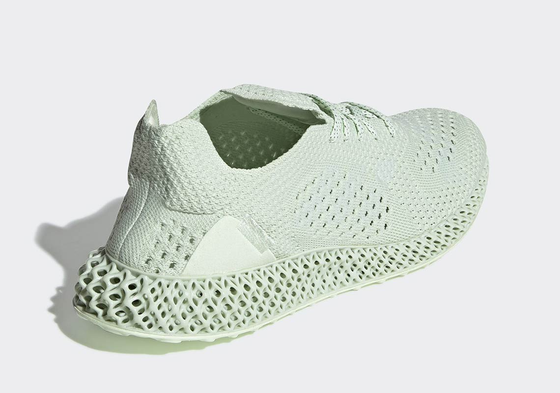 newest d9b8e bfdf5 Daniel Arsham x adidas Futurecraft 4D Release Date October 12, 2018 450.  Color Aero Green
