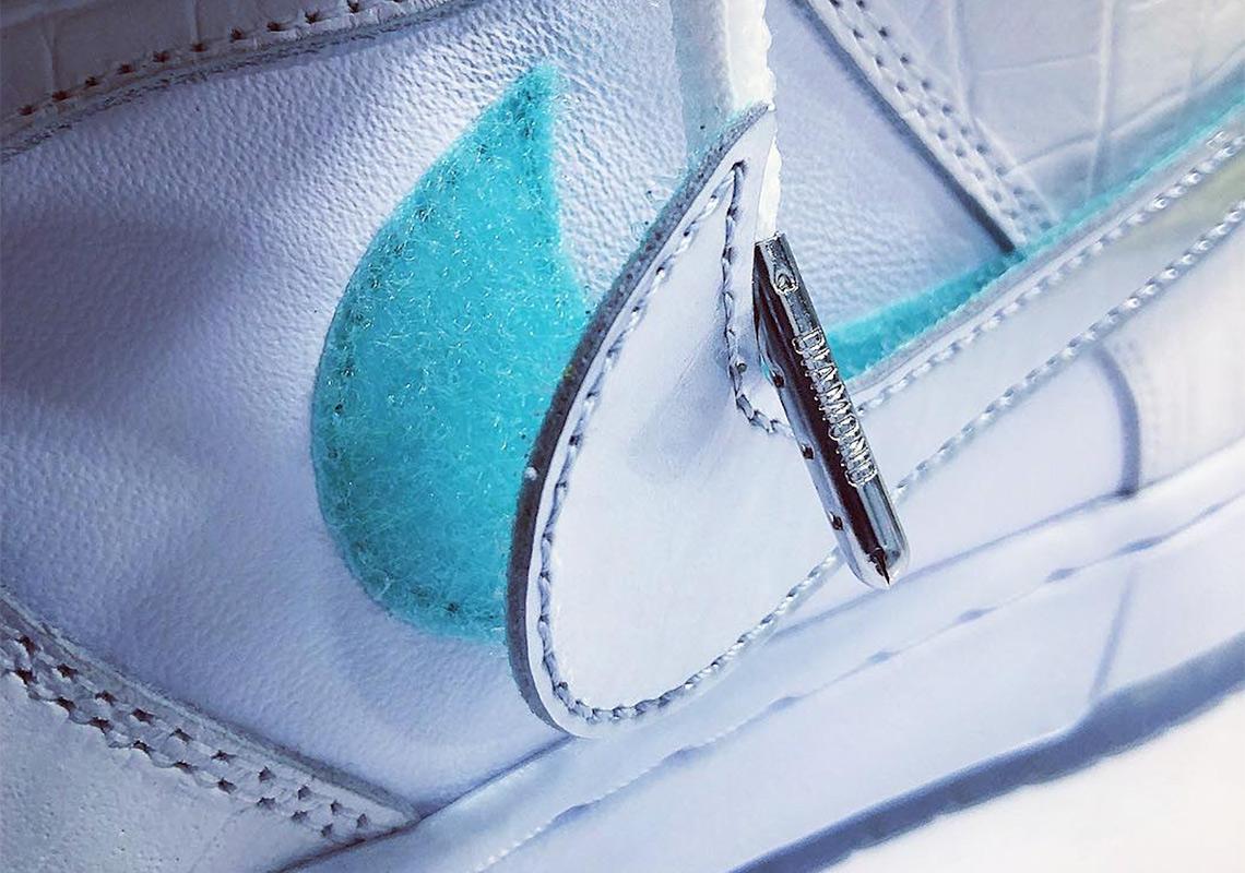 5422bafb8a Diamond Supply Co. Nike SB Dunk White Photos | SneakerNews.com