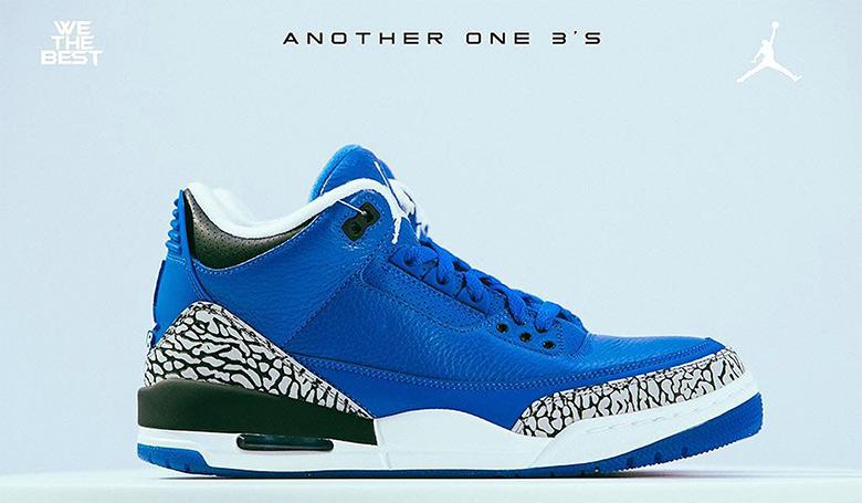 huge selection of 2e681 8af4a DJ Khaled Air Jordan 3 We The Best Father Of Asahd Blue ...
