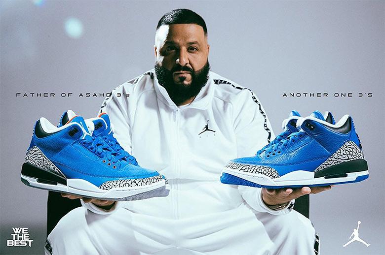 d36d0d3870b5ec DJ Khaled Air Jordan 3 We The Best Father Of Asahd Blue ...