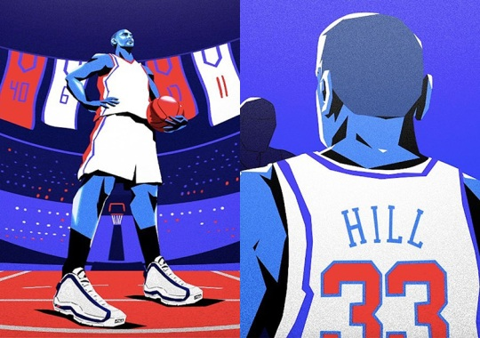 FILA Congratulates Grant Hill On Hall Of Fame Induction