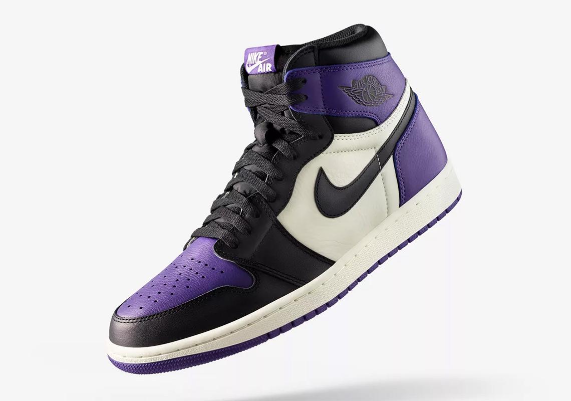 "b57203928cd3a3 Where To Buy The Air Jordan 1 ""Court Purple"""