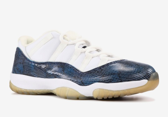 "The Original Air Jordan 11 Low ""Snakeskin"" Is Returning In 2019"