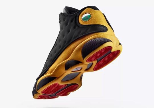 "Where To Buy The Air Jordan 13 ""Melo"""