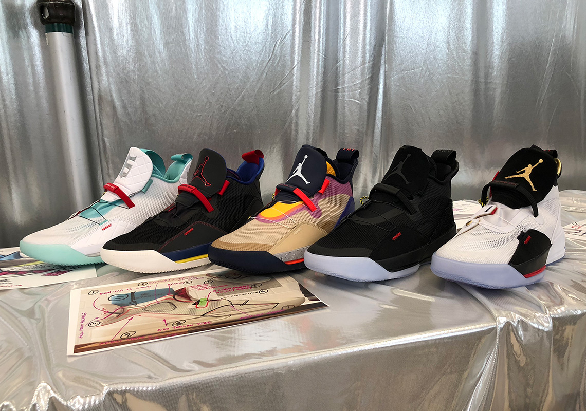 c973be0d515 You can preview all five colorways of the Air Jordan 33 here, and stay  tuned to the Jordan release dates page for updates.