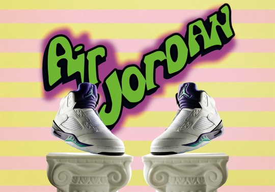 "The Details Behind The Air Jordan 5 ""Fresh Prince"""