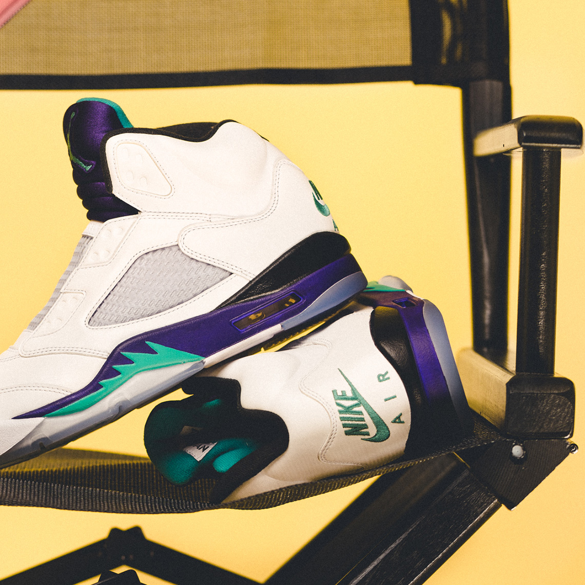 "6ace650fc829 Air Jordan 5 NRG ""Fresh Prince""Release Date  September 25"