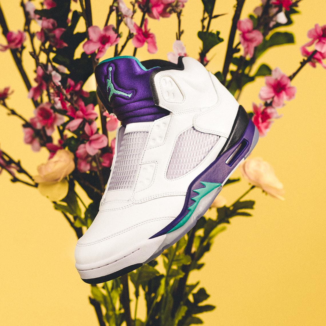 c8e612b7704645 Air Jordan 5 Fresh Prince Release Info + Photos