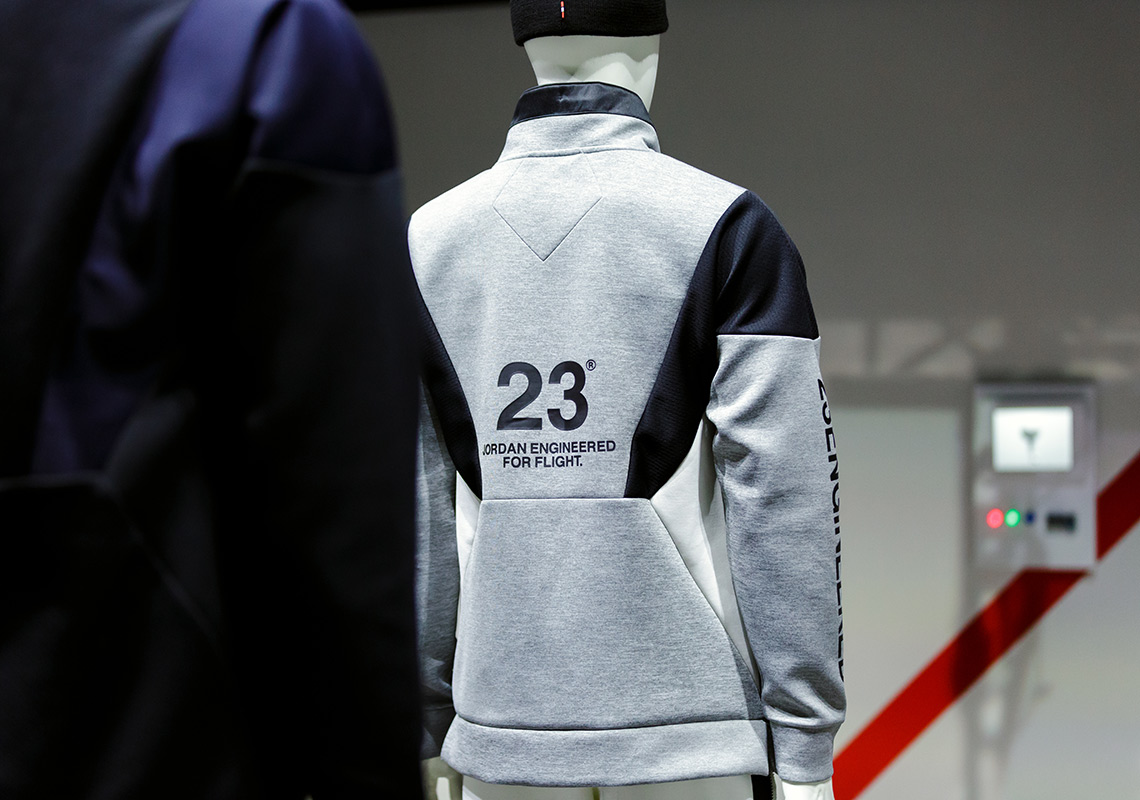 detailed look 5bc2a a3628 Jordan Apparel Engineered For Flight