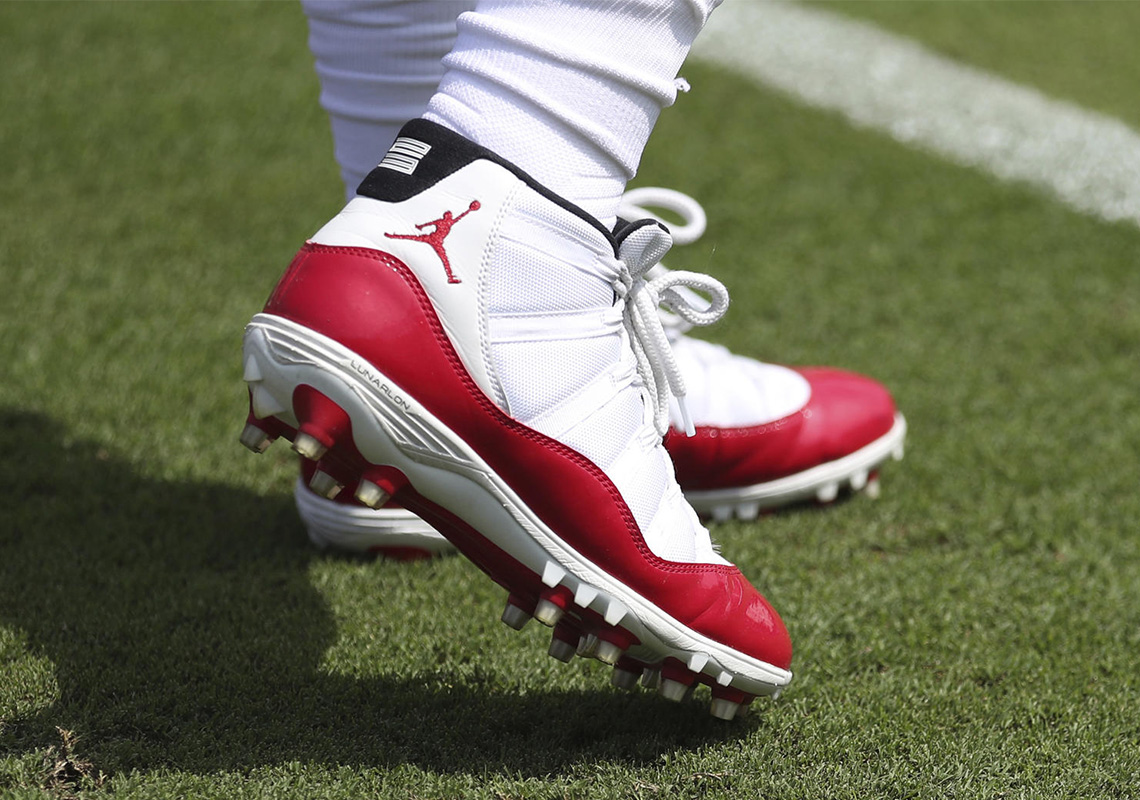 60b4de48b4b Jordan Brand s Cleats For NFL Players Will Now Feature Jumpman Logos On  Field