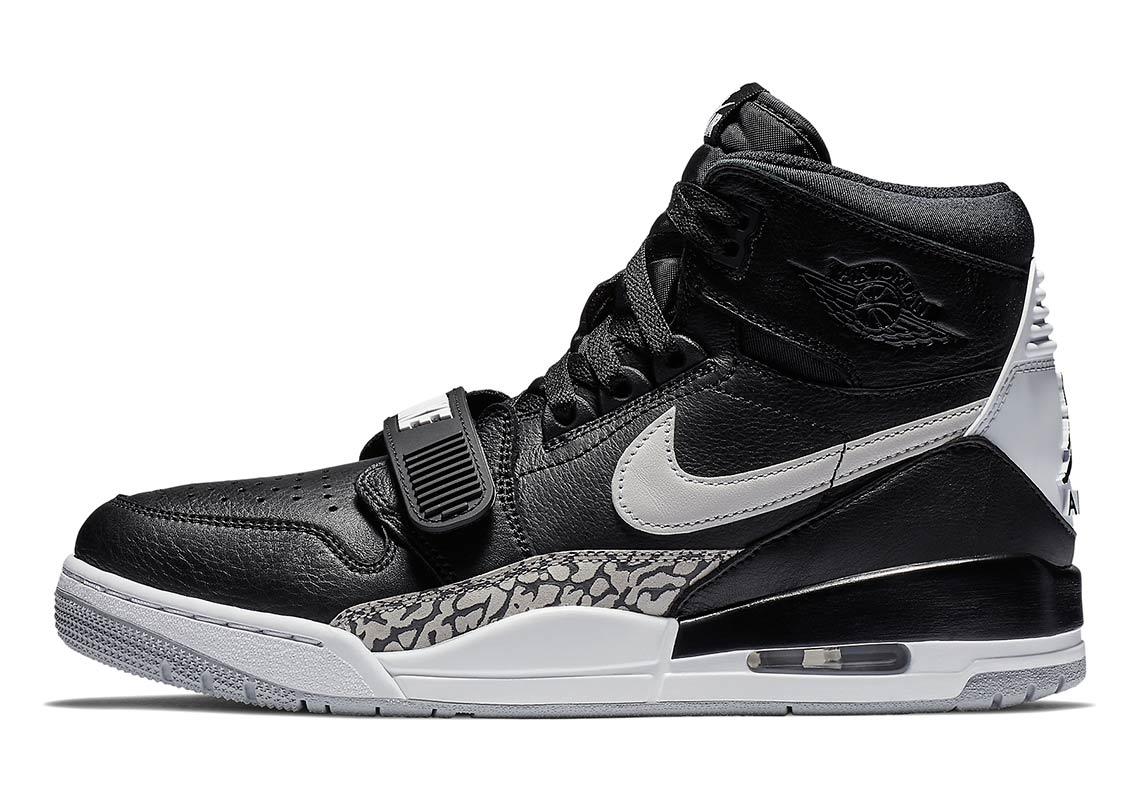 Jordan Legacy 312 Black Cement Release