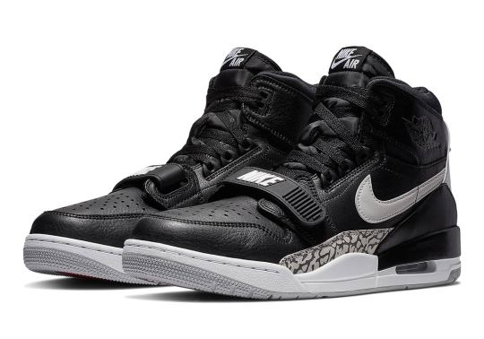 """The Jordan Legacy 312 """"Black Cement"""" Is Available Now"""