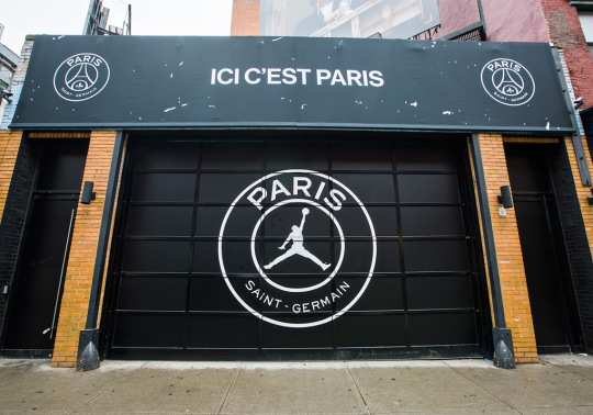Jordan Paris Saint-Germain Pop-Up Opens At 45 Grand In NYC