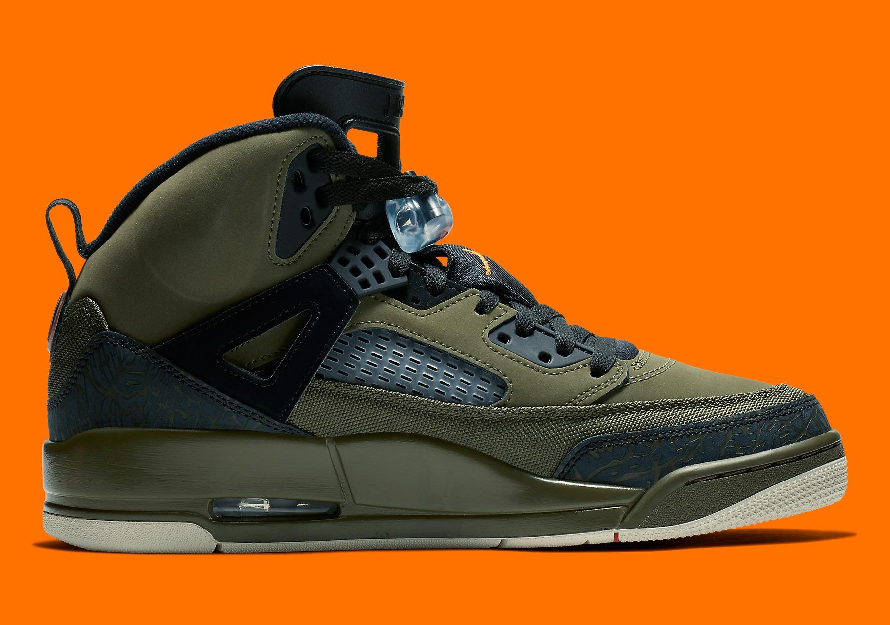 Jordan Spizike 315371-300 Olive Orange