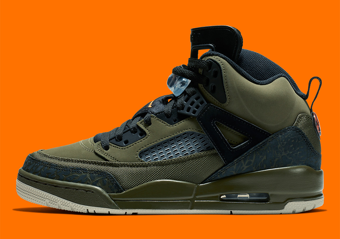 Jordan Spizike 315371-300 Olive Orange  d0675ef7b
