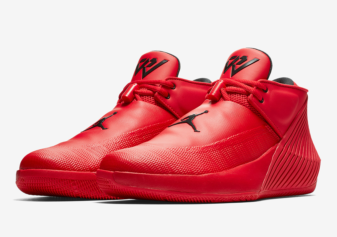 6fe1ad086ee0bb Russell Westbrook s Jordan Signature Shoe Releases In All Red ...