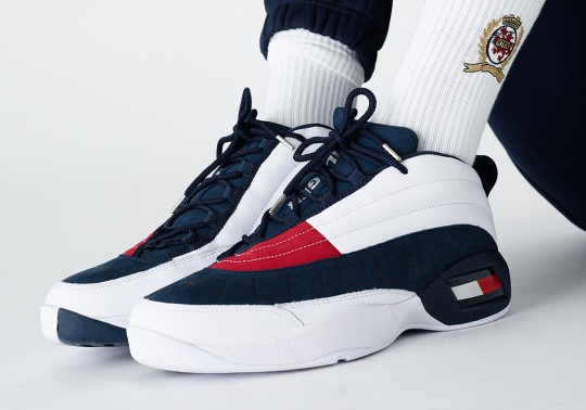 KITH And Tommy Hilfger Bring Back The OG Basketball Sneaker From 1996