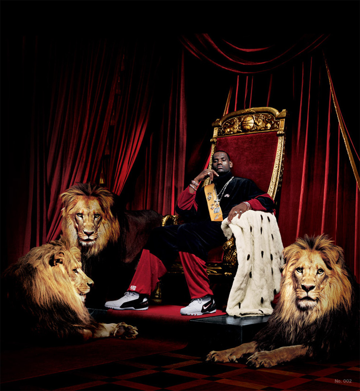 lebron james nike ad throne - Nike LeBron 16 King Release Info