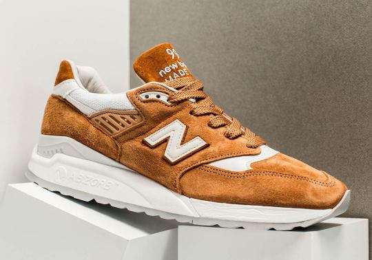 "A ""Curry"" Colorway Comes To The New Balance 998"