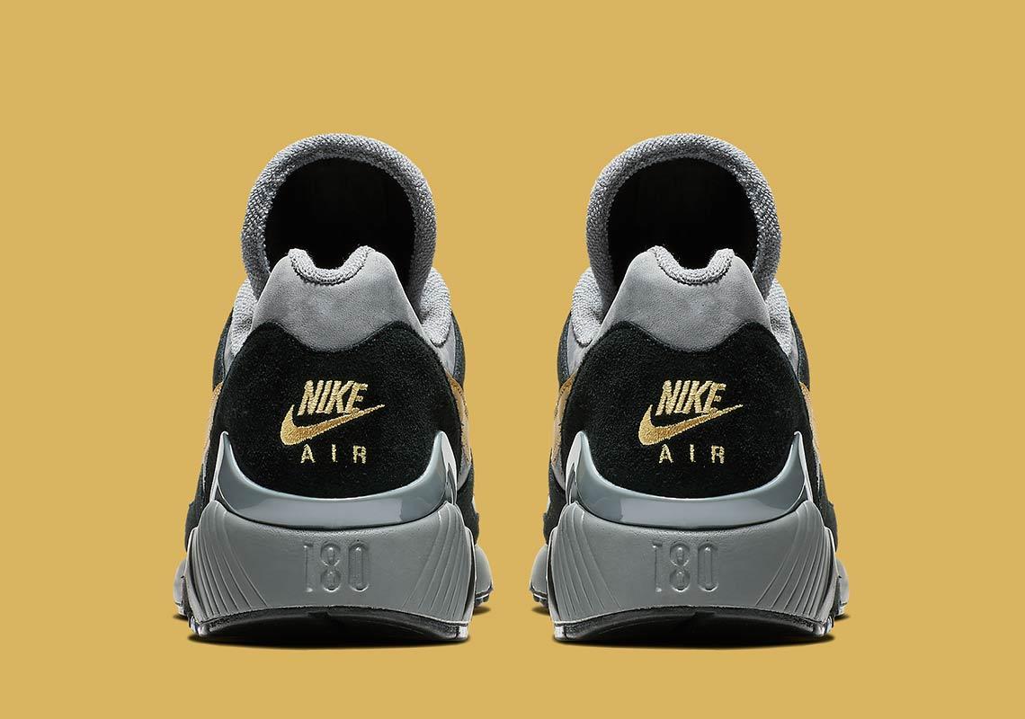 nike air 180 grey gold av7023 001 2 - Nike Air 180 Grey + Gold AV7023-001 Release Info