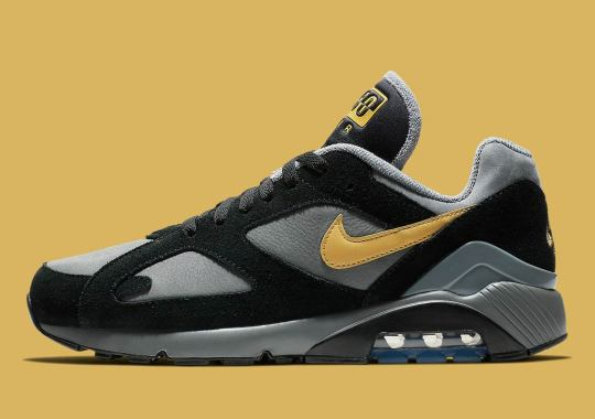 Nike Air 180 Releasing In Cool Grey And Wheat Gold