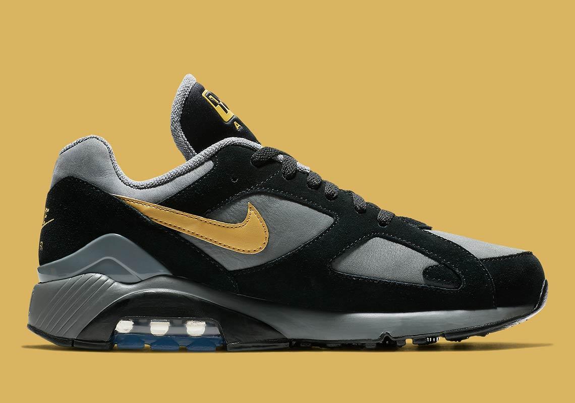 nike air 180 grey gold av7023 001 6 - Nike Air 180 Grey + Gold AV7023-001 Release Info