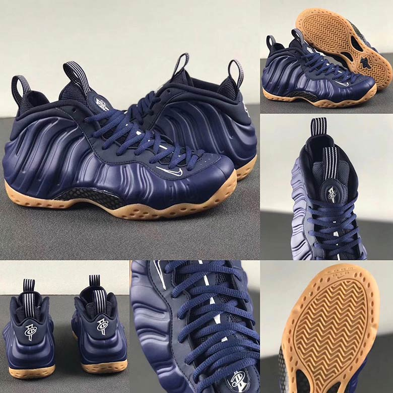 new york 9f1d0 ab880 Nike Air Foamposite One Navy + Gum Release Info   SneakerNews.com