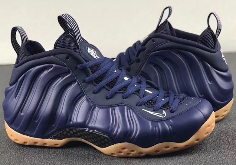 super popular d5a86 10f26 The Nike Air Foamposite One Is Arriving In Navy And Gum