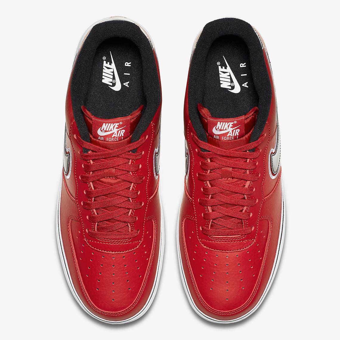 nike air force 1 bulls 6 - The Chicago Bulls Get Their Own Nike Air Force 1