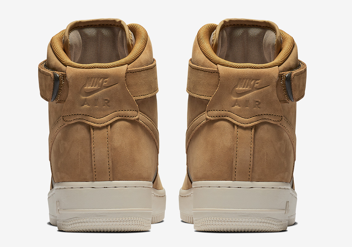 nike air force 1 high 525317 700 2 - Nike Air Force 1 High Wheat 525317-700 Release Info