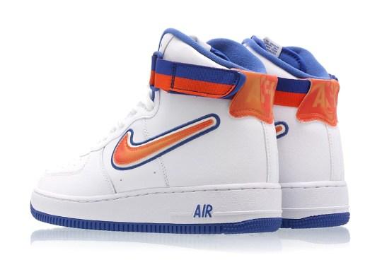 "Nike Air Force 1 High ""Knicks"" Is Dropping Next Week"