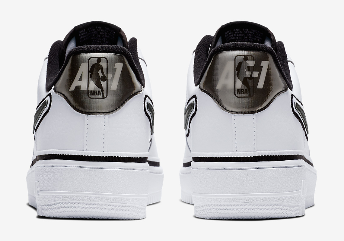 nike air force 1 low AJ7748 100 2 - Nike Air Force 1 Low Spurs AJ7748-100 Release Info