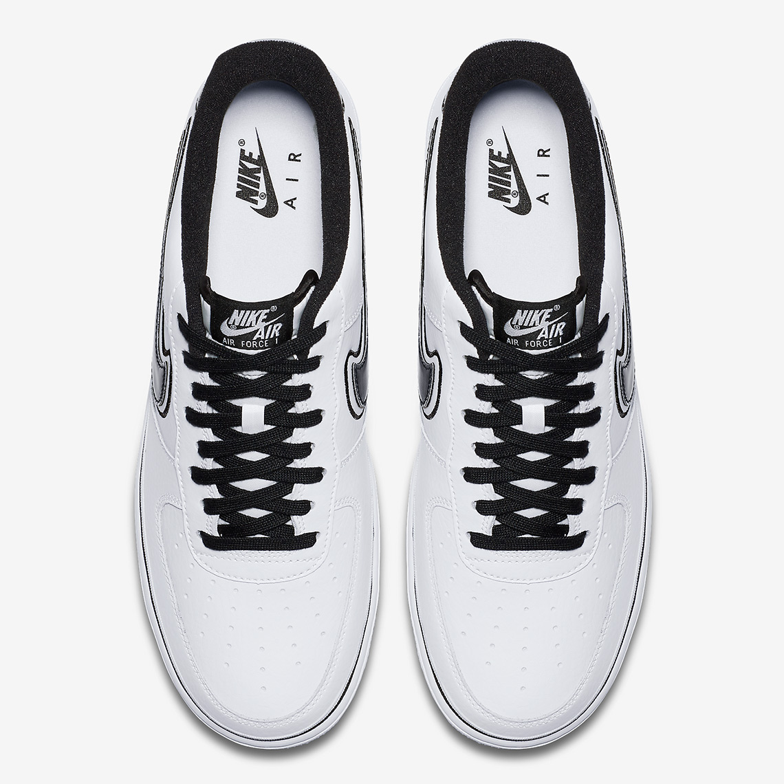 nike air force 1 low AJ7748 100 6 - Nike Air Force 1 Low Spurs AJ7748-100 Release Info