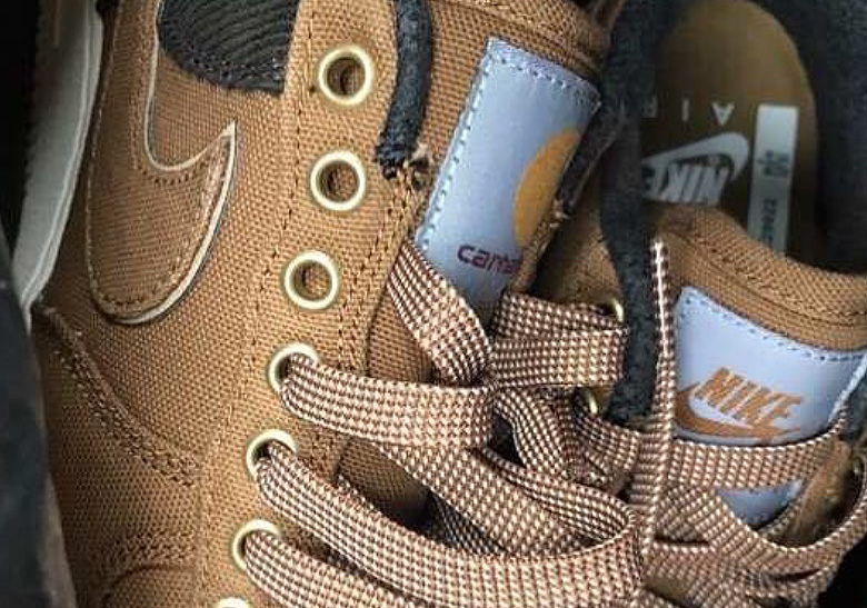 bf53441fd5d3 A Carhartt x Nike Air Force 1 Low Collaboration Could Be Coming Soon