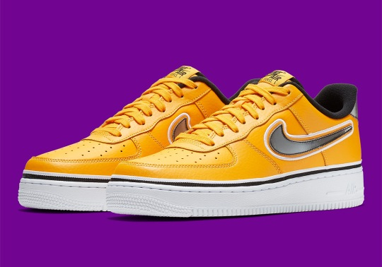 The Los Angeles Lakers Get Their Own Nike Air Force 1 Low