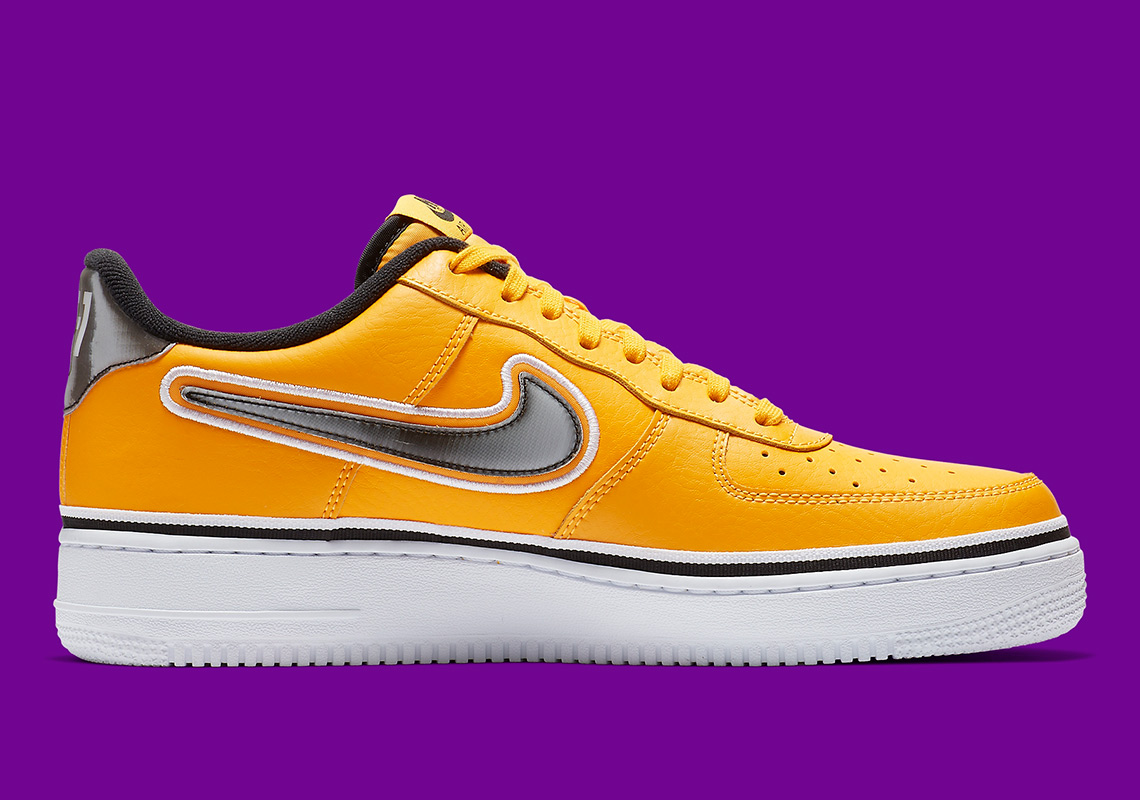 best value recognized brands authentic quality Nike Air Force 1 Low Lakers BV1168-700 Release Info ...