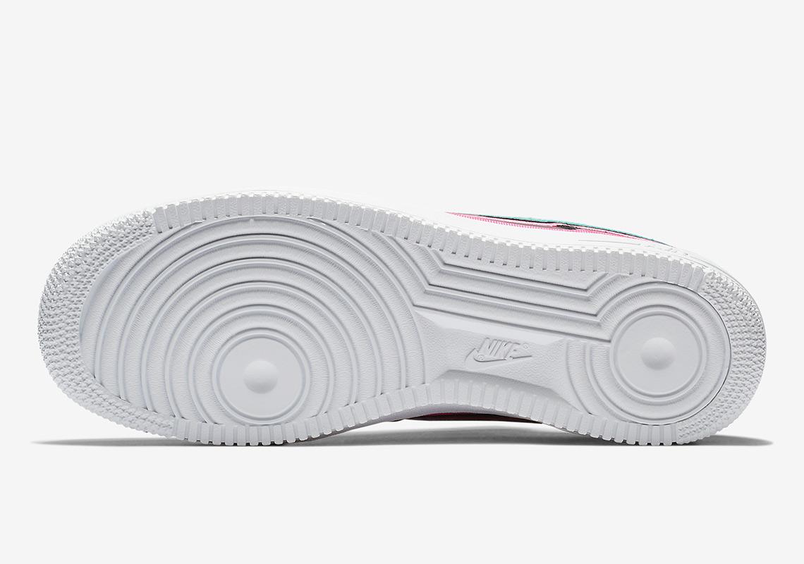 49d3b344cb21 Nike Air Force 1 Low South Beach AJ7748-002 Release Info ...