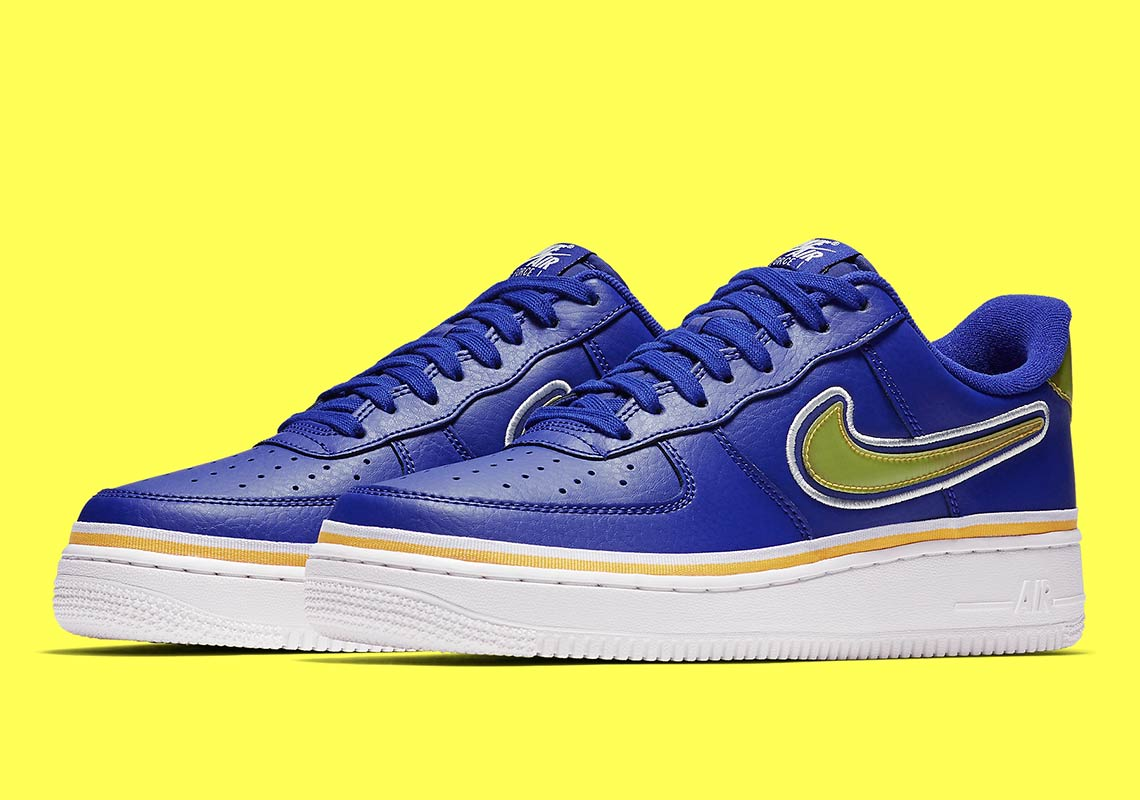 1066b4575a49 The Golden State Warriors Get Their Own Nike Air Force 1 Low