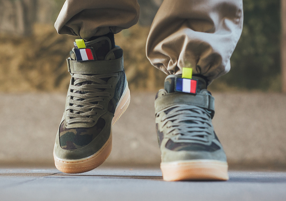 """buy popular 0867c f8072 Nike Brings Back The """"Country Camo"""" Pack With This Air Force 1 Mid For  France"""
