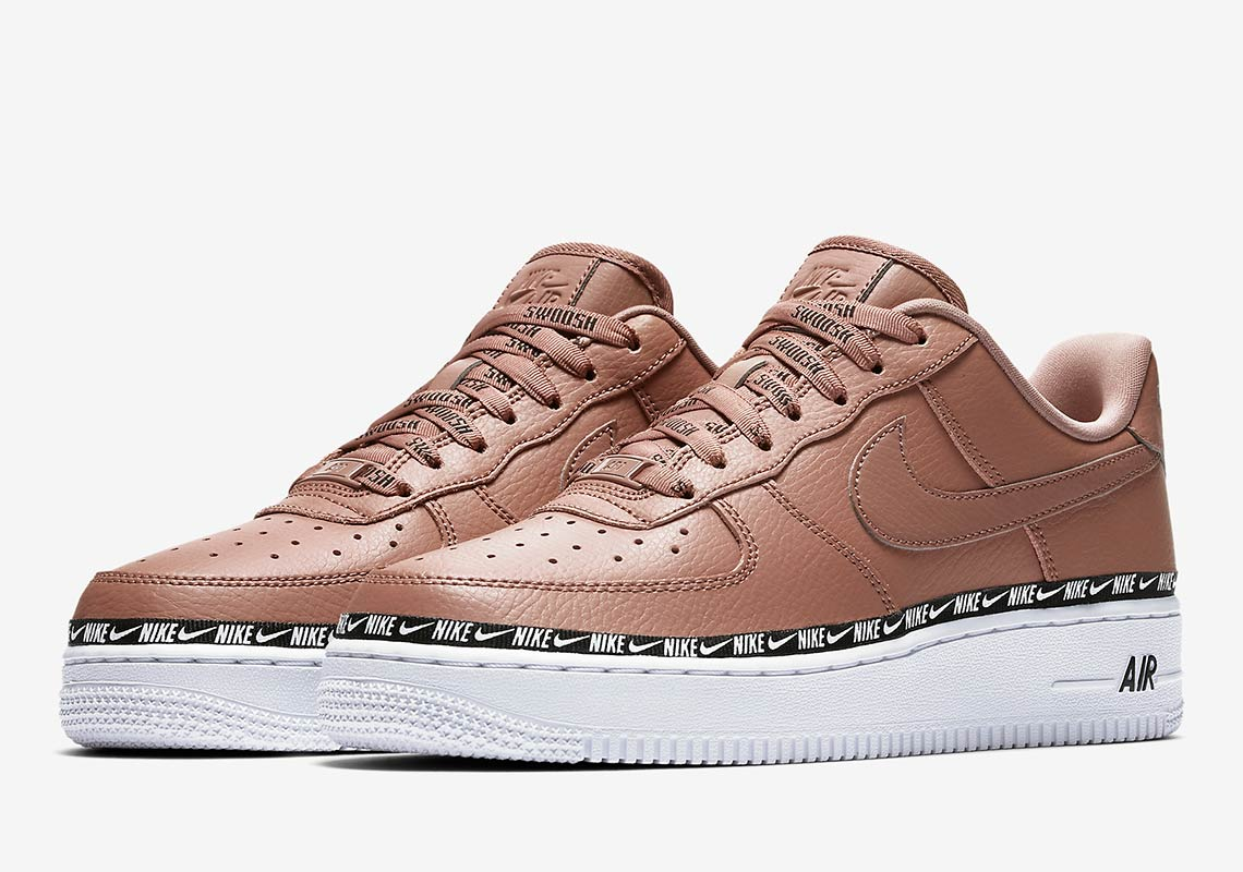chaussures de séparation 263d1 fccf1 Nike Air Force 1 Ribbon Pack AH6827-201 + AH6827-002 ...