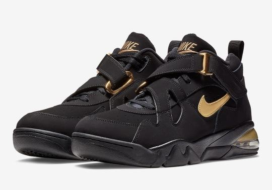 Charles Barkley's Nike Air Force Max CB Appears In Black And Gold