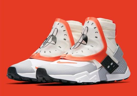Nike's New Air Huarache Gripp Features A Branded Shroud