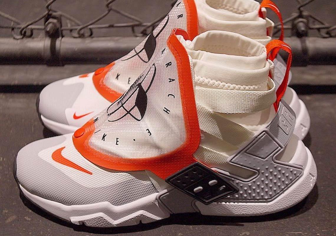 nike air huarache grip white orange - Nike Air Huarache Grip First Look