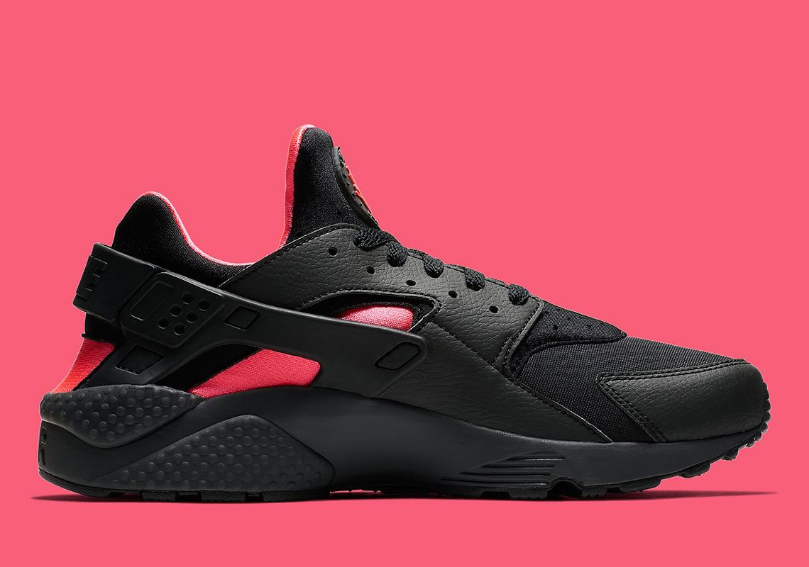 Nike Air Huarache Black/Pink 318429-055 Release Info | SneakerNews.com