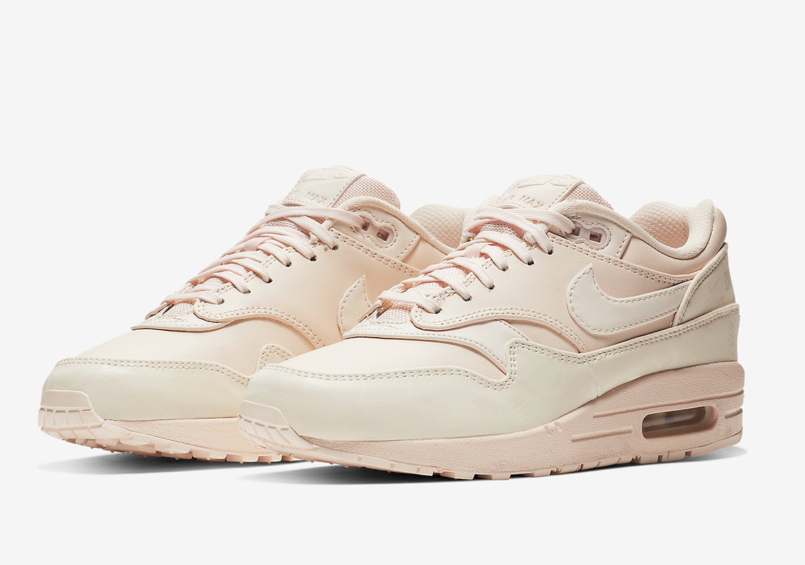 "new arrivals a7ecb bd53a Nike Air Max 1 LX ""Guava Ice"" Features More All Over Prints"