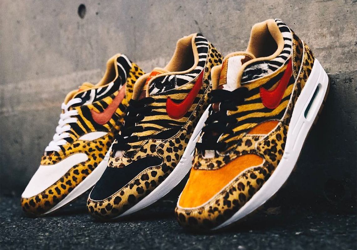 "brand new 354ff d06ea atmos Reveals Their Full Nike Air Max 1 ""Animal Pack"" Set"