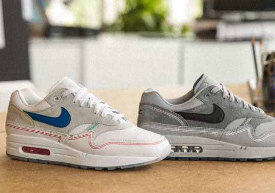 """Nike Honors Centre Pompidou With Air Max 1 """"By Day/By Night"""""""